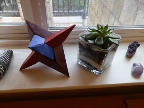 How to Make a Modular Origami Three Intersecting Rhombi (Martin Sejer Andersen)