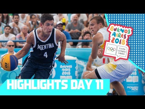 Argentina & USA Win 3x3 Basketball Gold | YOG 2018 Day 11 | Top Moments
