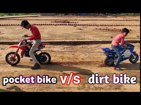Pocket Bike V/S Dirt Bike