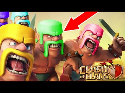 Clash Of Clans - CHANGE COLORS!! NEW UPDATE IDEA! - Troop Colour Features July 2016!