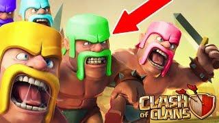 Clash Of Clans - CHANGE COLORS!! NEW UPDATE IDEA! - Troop Colour Features July 2016!