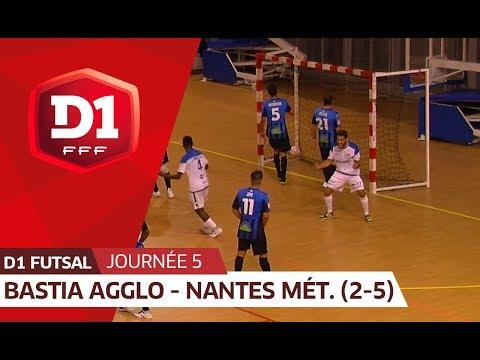 J5 : Bastia Agglo Futsal - Nantes MF (2-5), le résumé