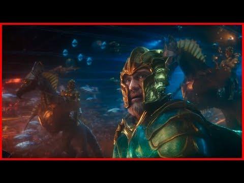 Истинный царь.  Артур вмешивается в битву Атлантов и Солёноводными. Аквамен