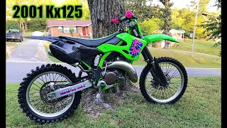 INSANE RETRO KX125 BIKE REVEAL - ITS DONE