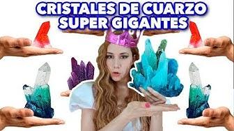 HAZ CRISTALES DE CUARZO SUPER GIGANTES. EXPECTATIVA/REALIDAD.