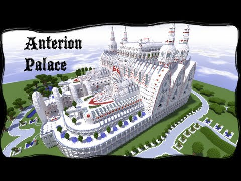 Minecraft Anterion Palace With Schematic And Download