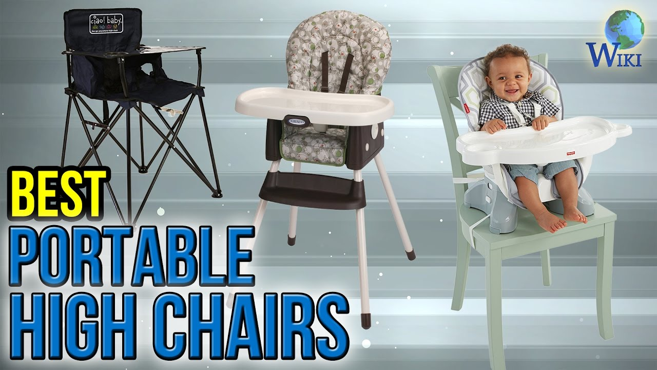 10 Best Portable High Chairs 2017