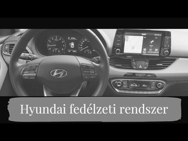 Kényelmi szolgáltatások a Hyundai fedélzetén