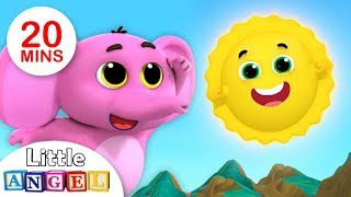 Mr. Golden Sun, Where is My Tail? | + More Kids Songs and Nursery Rhymes | Little Angel