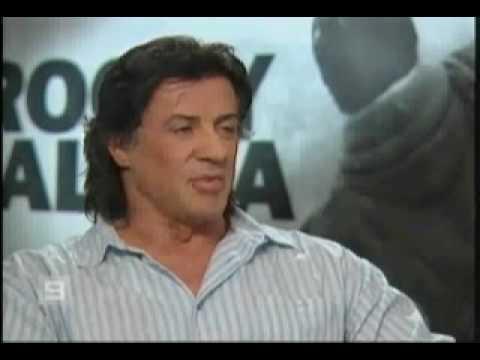 sylvester stallone talks about rocky balboa.