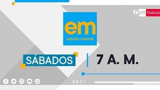 TVPerú Noticias Edición Sábado - 15/08/2020