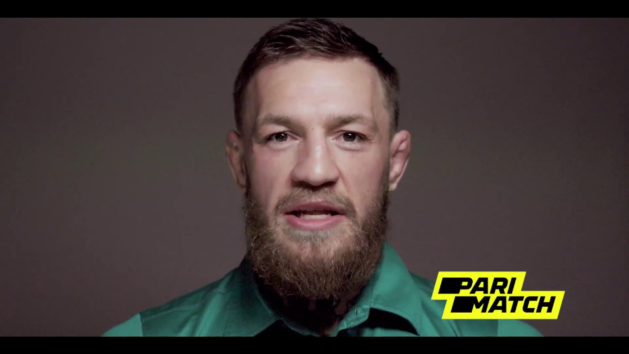 Conor McGregor - official brand ambassador of Parimatch