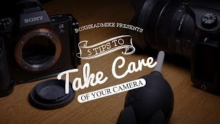 5 tips to take care of your camera