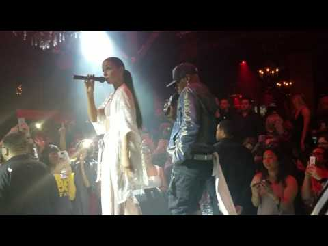 Mya and Sisqo perform its all about me in Seattle 2017