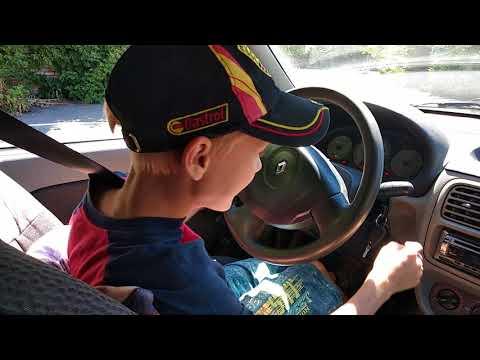Ребенок за рулем в БЦВВМ. Детская автошкола в Барнауле  Автомногоборье с 8 до 16 лет