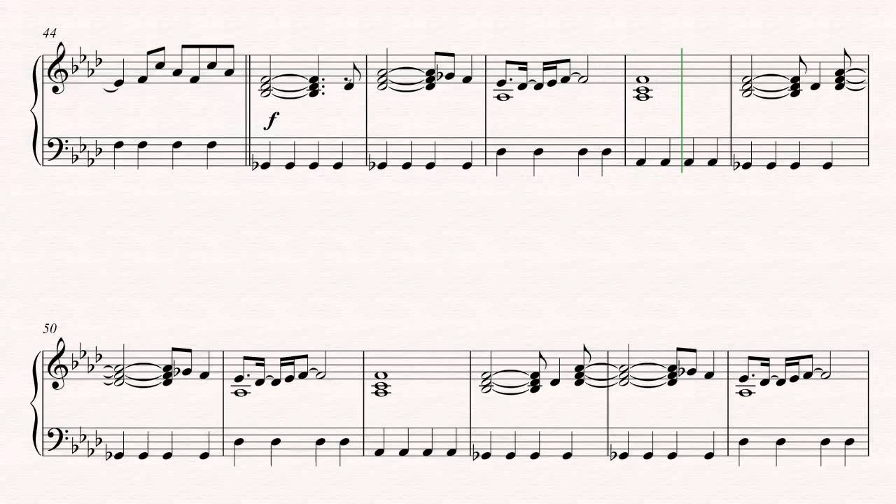 Piano - Clocks - Coldplay Sheet Music, Chords, u0026 Vocals - YouTube