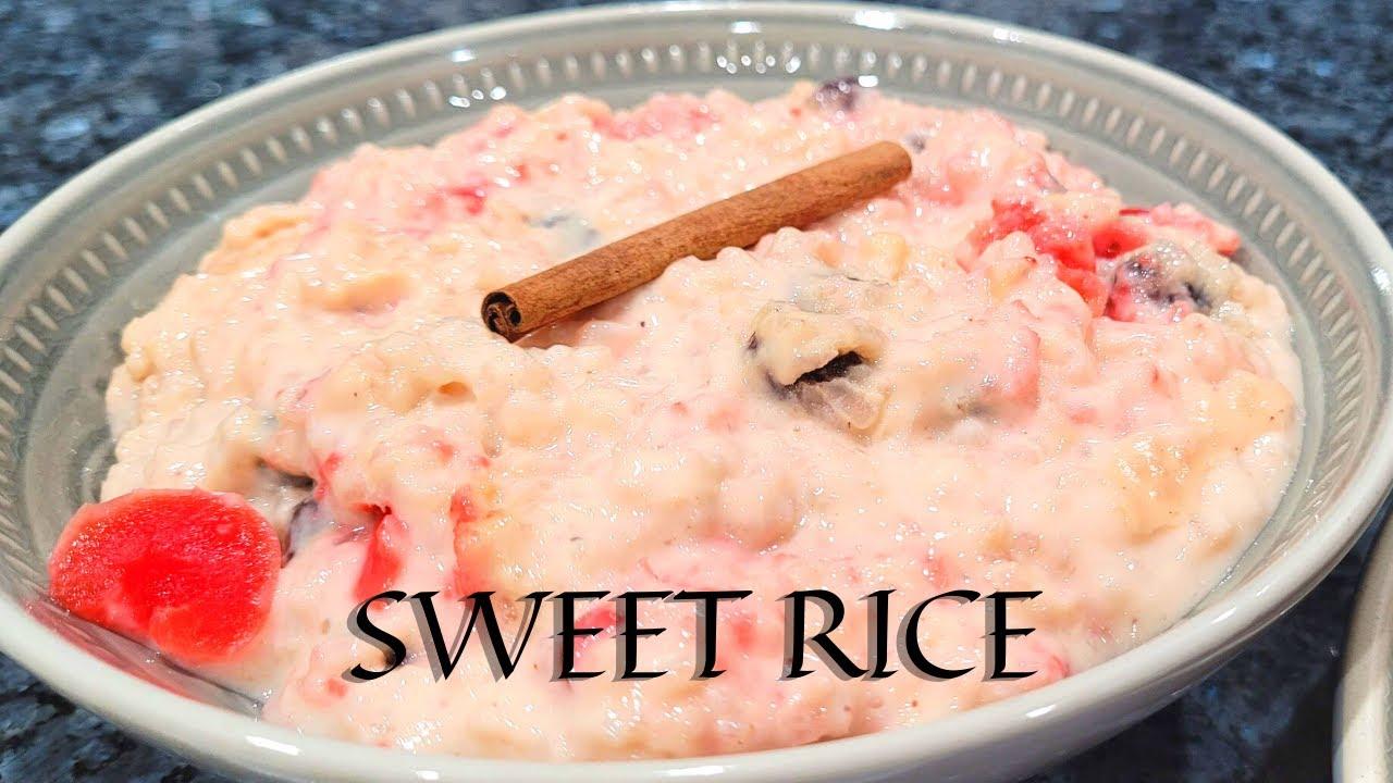 Guyanese Sweet Rice/Kheer    Meeta Bhaat    Collaboration ...