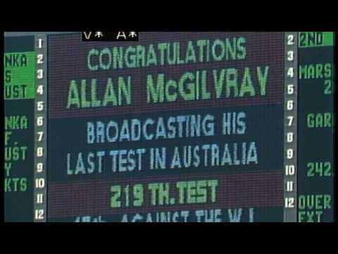 Alan McGilvray: The Australian Media Hall of Fame - YouTube