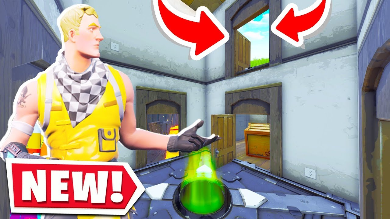 The New Default Escape Room Map Fortnite Creative Mode Youtube