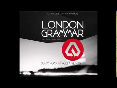 London Grammar - Hey Now (Arty VIP Remix) (NOT OFFICIAL) (ALM EMOTIVE CONCEPT MASHUP)