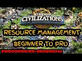 Rise of Civilizations | Beginner's Guide| Resource Management| From BEGINNER TO PRO HOW TO TIPS!!