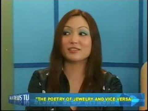 Designer Michelline Syjuco on TalkNewsTV (Part 1)