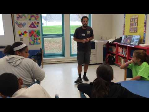 Eagle Gamma speaking at Bentley Academy Charter School - Part 2
