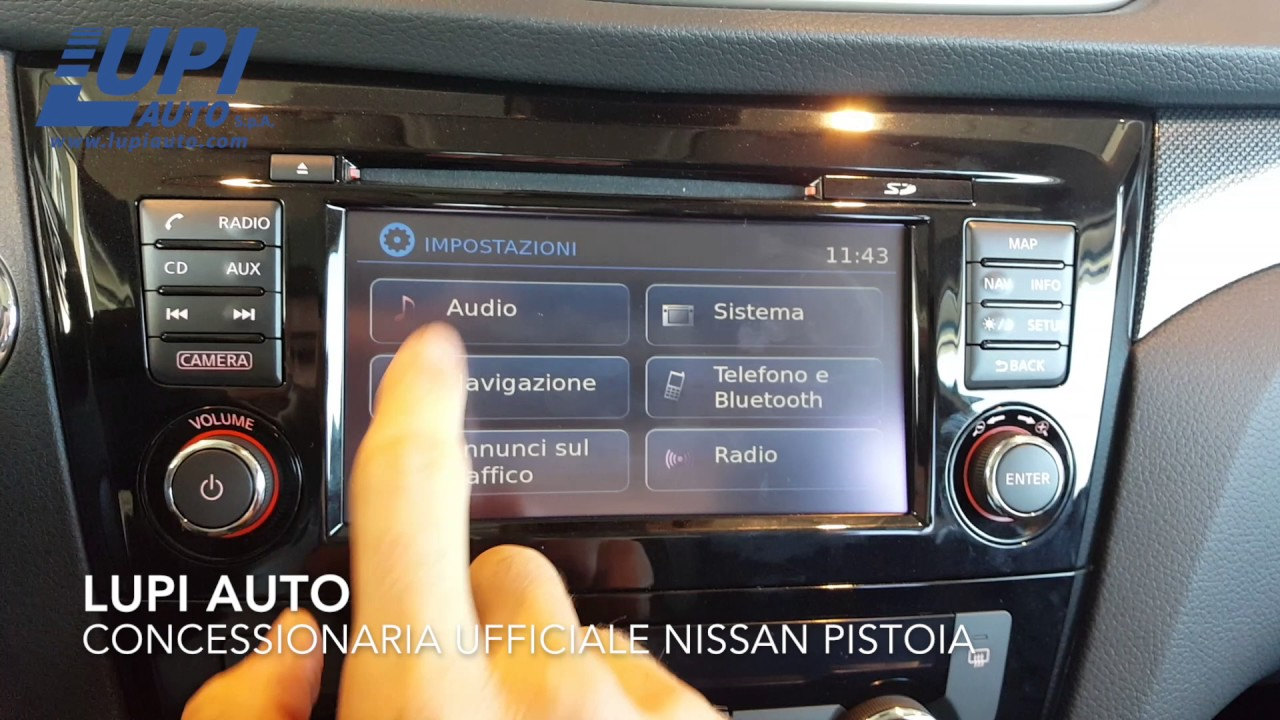 mappe nissan connect