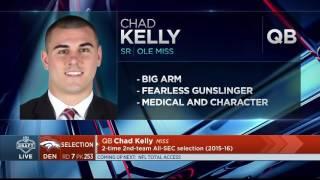 2017 Mr. Irrelevant Chad Kelly | Apr 29, 2017