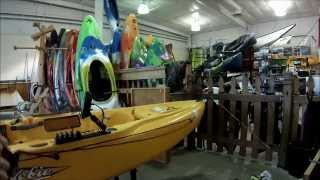 Installing an Anchor Trolley on Hobie Outback