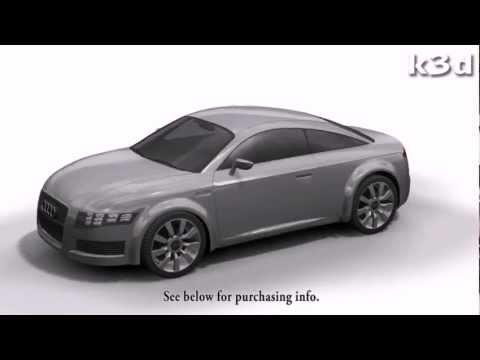Audi Nuvolari 3D model by k3d.