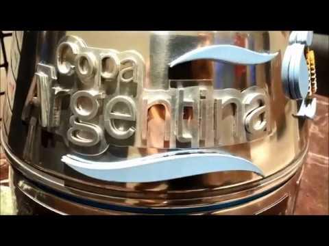 El trofeo de la Copa Total Argentina 2018