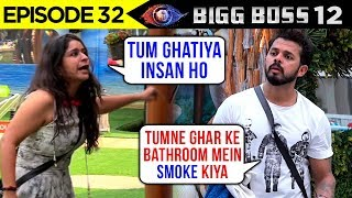 Sreesanth Blames Surbhi For Smoking In The House | Bigg Boss 12 Episode 32 Update