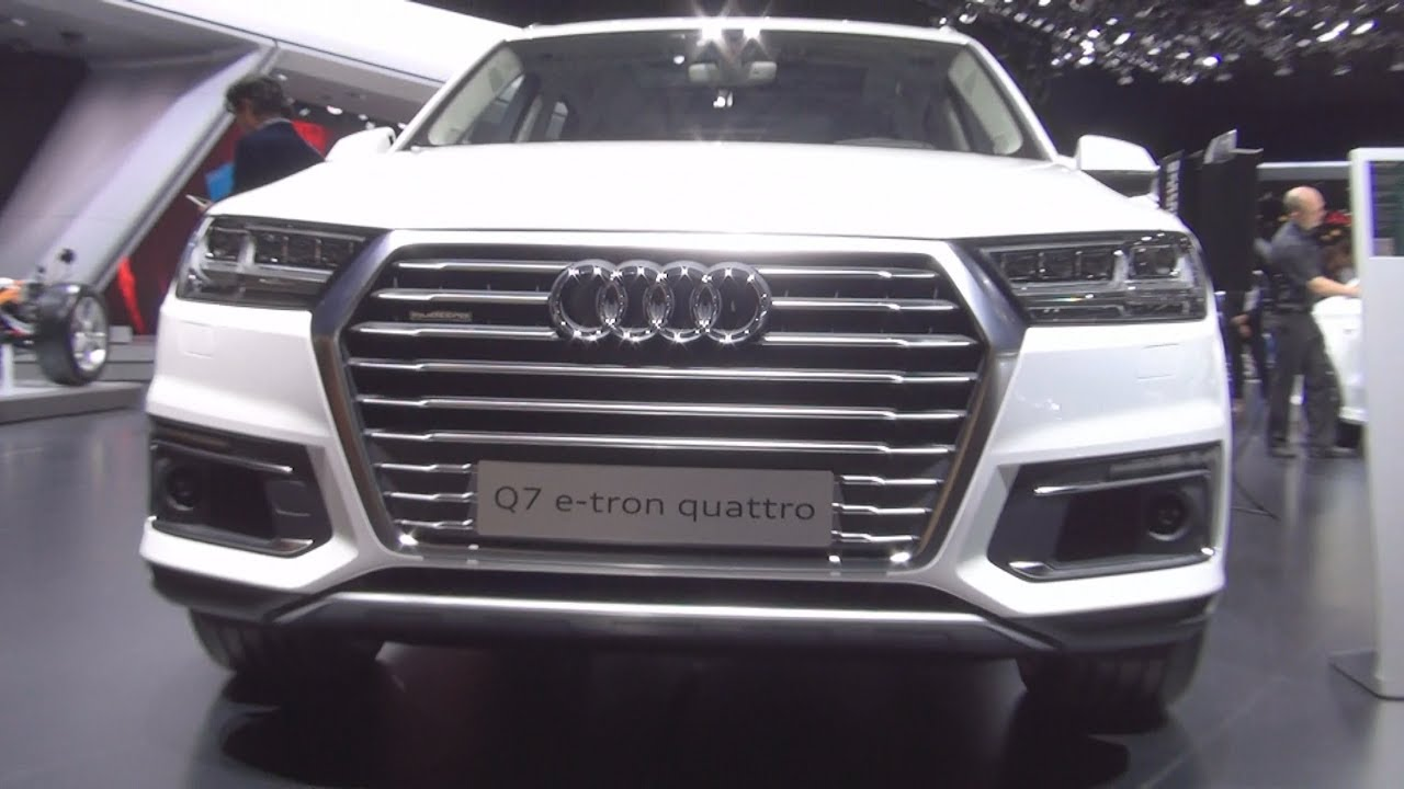 audi q7 e tron 3 0 quattro tiptronic 275 kw 2016 exterior and interior youtube. Black Bedroom Furniture Sets. Home Design Ideas