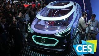 Automotive Brands at the CES 2019 – Mercedes-Benz   Byton   FCA & More