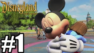 Disneyland Adventures Gameplay Walkthrough Part 1- Xbox One