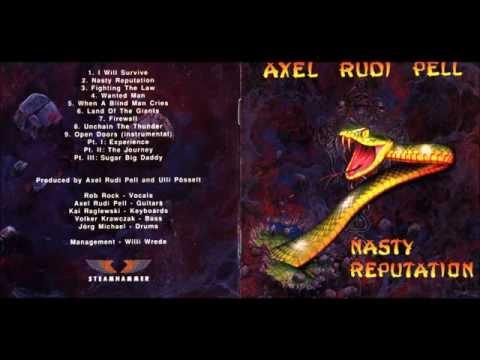 Axel Rudi Pell - Wanted Man (Lyrics)
