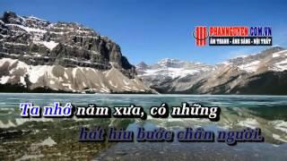 [Karaoke] Trên Lối Xưa Em Qua - Quang Dũng