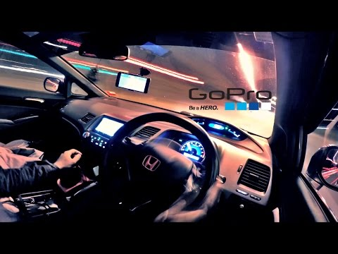 gopro hero 4 night time car interior time lapse youtube. Black Bedroom Furniture Sets. Home Design Ideas