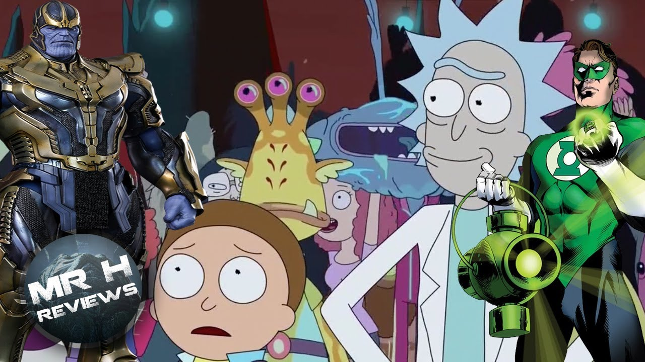 Rick and Morty Season 3 Episode 4 - Infinity War Parody Review