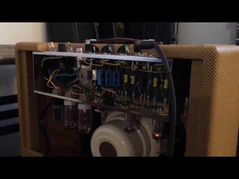 Fender deluxe 5E3 replica. (V1) 5751 tube. Speaker Celestion cream alnico