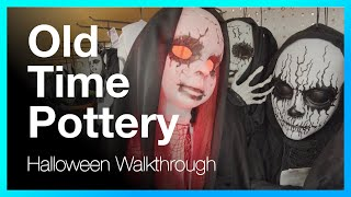 Old Time Pottery Store Halloween Decorations, Decor, Toys and Animatronics Walkthrough