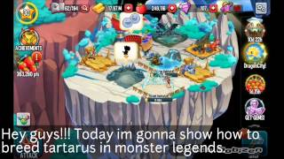 Monster legends-how to breed tartarus+info