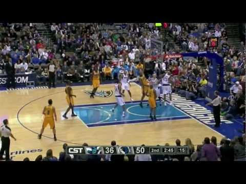 Vince Carter dunks on Okafor! (Jan 7, 2012)