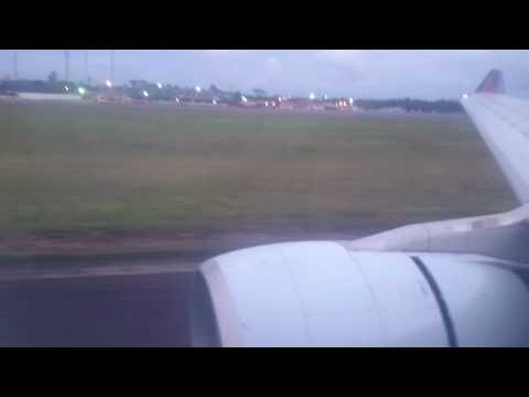 Brussels Airlines A330 Landing Monrovia