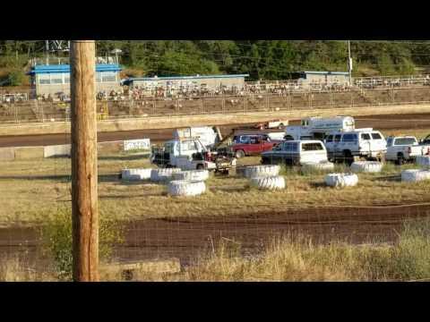 Southern Oregon speedway 6-24-2017 Sport mod heat 2