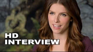 """Into the Woods: Anna Kendrick """"Cinderella"""" Behind the Scenes Movie Interview"""