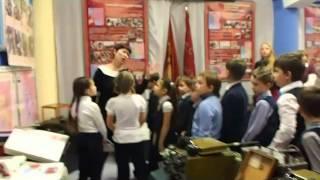 Видео открытого урока к 73 г битвы под Москвой