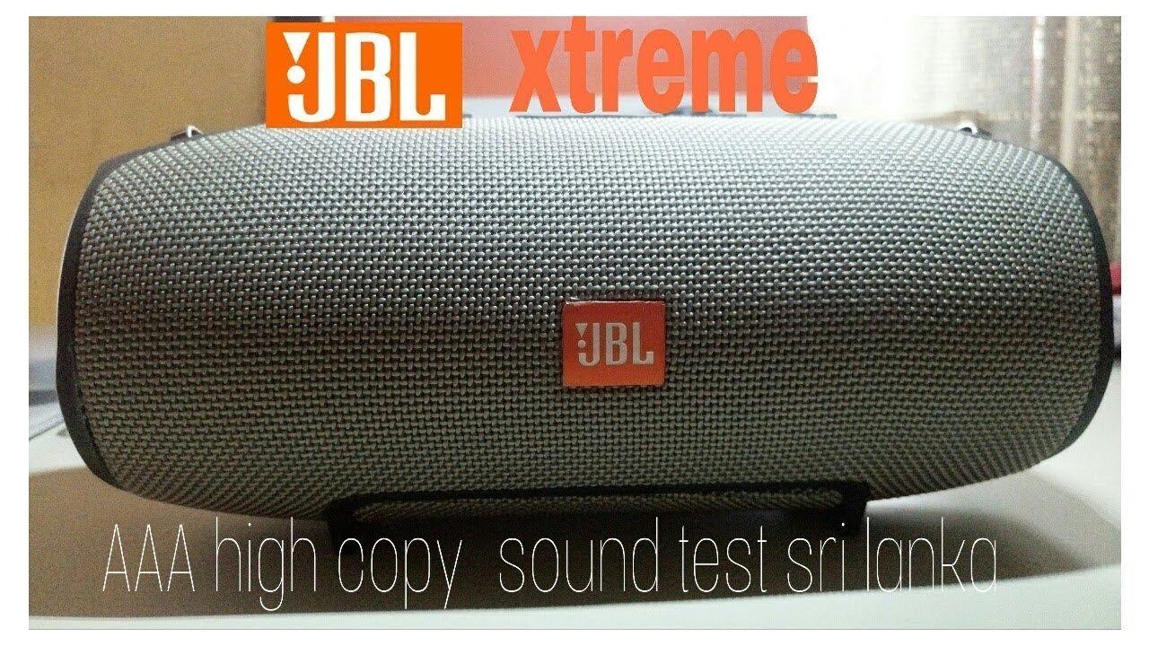 Jbl xtreme high copy unbox & sounds test (Sri Lanka)