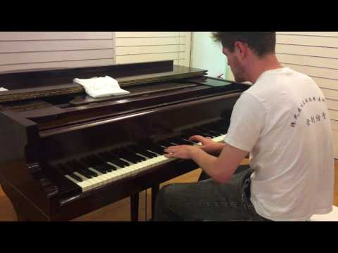 Play Me, I'm Yours - Bristol Street Pianos 2017: Trying out our Grand Piano